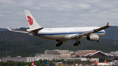 B-6523 - Airbus A330-343 - Air China