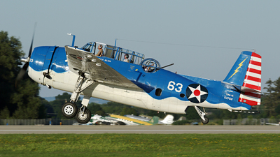 NL683G - General Motors TBM-3E Avenger - Private