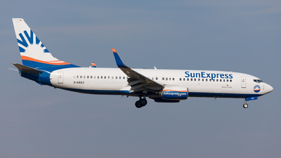 D-ASXC - Boeing 737-86N - SunExpress Germany