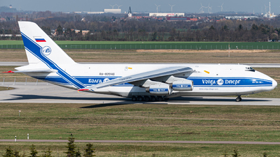 A picture of RA82046 - Antonov An124100 Ruslan - VolgaDnepr Airlines - © Dennis Hein