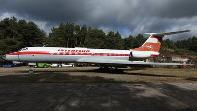 DDR-SCH - Tupolev Tu-134A - Interflug