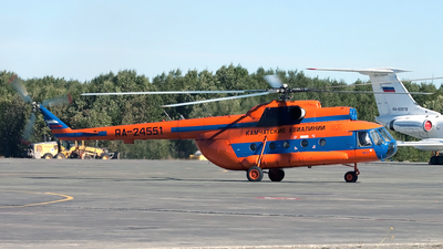 RA-24551 - Mil Mi-8MTV Hip - Kamchatskie Avialinii