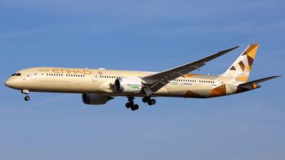 A picture of A6BMI - Boeing 78710 Dreamliner - Etihad Airways - © Daniel Klein