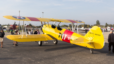 N667BS - Boeing N2S-3 Stearman - Private