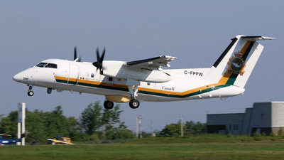 C-FPPW - Bombardier Dash 8-106 - Canada - Fisheries and Oceans