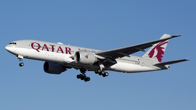 A7-BBC - Boeing 777-2DZLR - Qatar Airways