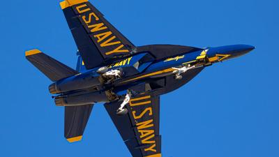 165538 - Boeing F/A-18E Super Hornet - United States - US Navy (USN)