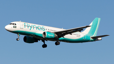 VP-CXY - Airbus A320-214 - Flynas