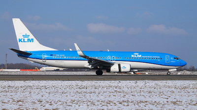 A picture of PHBXD - Boeing 7378K2 - KLM - © Calin Horia Lupu