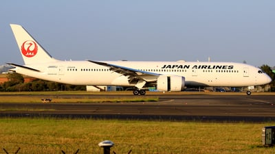 JA865J - Boeing 787-9 Dreamliner - Japan Airlines (JAL)