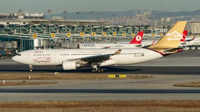 5A-LAT - Airbus A330-202 - Libyan Airlines