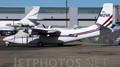 A picture of N12VA - Rockwell Commander 695 - [96062] - © Agustin Anaya