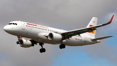 EC-LYE - Airbus A320-216 - Iberia Express