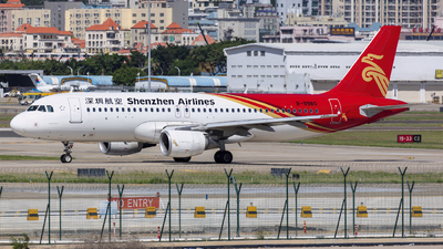 A picture of B9980 - Airbus A320214 - Shenzhen Airlines - © Eric Wang