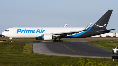 C-GAZI - Boeing 767-338(ER)(BDSF) - Amazon Prime Air (Cargojet Airways)