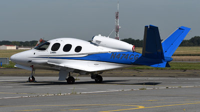N474CG - Cirrus Vision SF50 - Private
