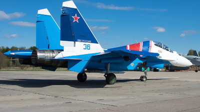 RF-81721 - Sukhoi Su-30SM - Russia - Air Force