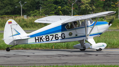 HK-876-G - Piper PA-22-125 Tri-Pacer - Private