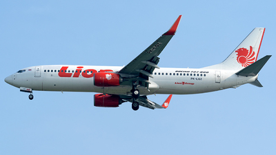 PK-LQZ - Boeing 737-8GP - Lion Air