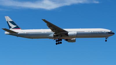 B-HNN - Boeing 777-367 - Cathay Pacific Airways