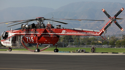 N715HT - Sikorsky CH-54B Skycrane - Helicopter Transport Services