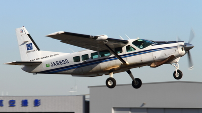 JA8890 - Cessna 208 Caravan - Asia Air Survey