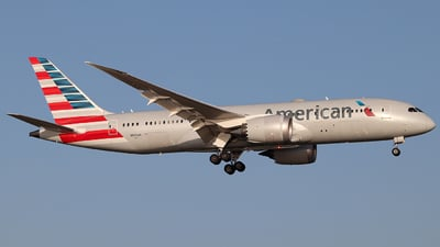A picture of N804AN - Boeing 7878 Dreamliner - American Airlines - © Jorge Medina Mediavilla