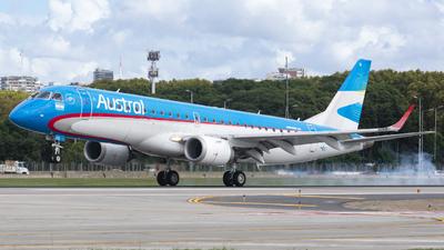 A picture of LVCIG - Embraer E190AR - Aerolineas Argentinas - © Cris.Spotter.mg