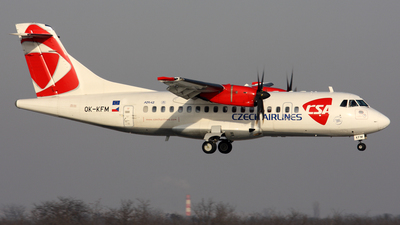OK-KFM - ATR 42-500 - CSA Czech Airlines