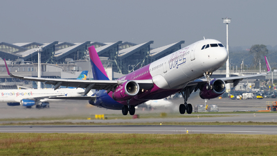 HA-LXK - Airbus A321-231 - Wizz Air
