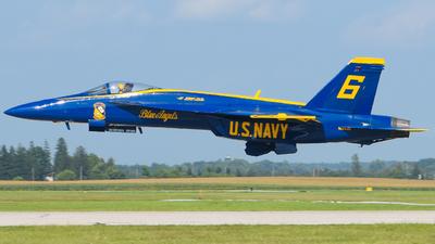 165539 - Boeing F/A-18E Super Hornet - United States - US Navy (USN)