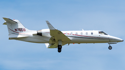 N76CD - Bombardier Learjet 31A - Private