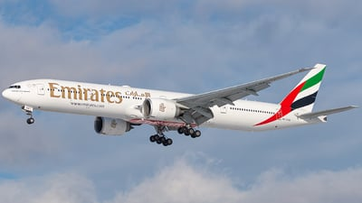 A picture of A6EQA - Boeing 77731H(ER) - Emirates - © Miles Aronovitz