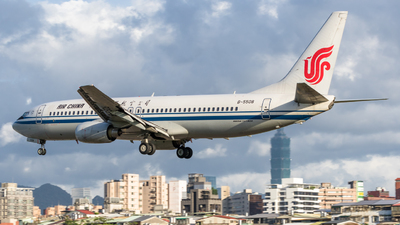 B-5508 - Boeing 737-86N - Air China