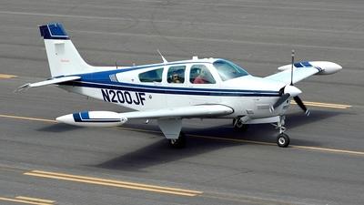 N200JF - Beechcraft F33A Bonanza - Private