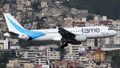 HC-CGJ - Airbus A320-214 - TAME Ecuador