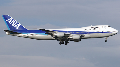 JA8153 - Boeing 747SR-81 - All Nippon Airways (ANA)