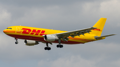 EI-OZB - Airbus A300B4-103(F) - DHL (Air Contractors)