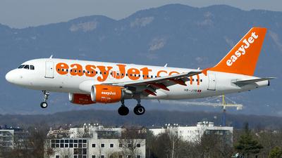 HB-JYB - Airbus A319-111 - easyJet Switzerland