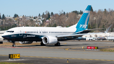 A picture of N7201S - Boeing 737 MAX 7 - Boeing - © Nick Sheeder