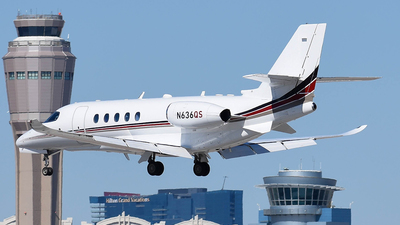 N636QS - Cessna Citation Latitude - NetJets Aviation