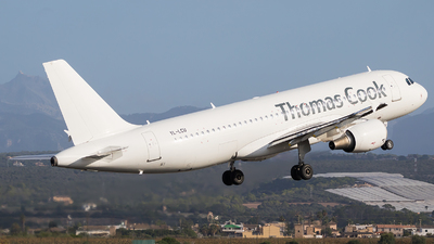 YL-LCU - Airbus A320-214 - Thomas Cook Airlines (SmartLynx Airlines)