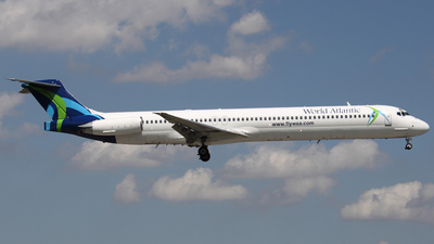 N805WA - McDonnell Douglas MD-83 - World Atlantic Airlines