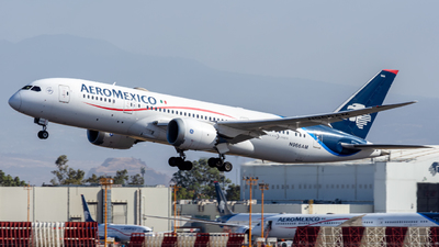 A picture of N966AM - Boeing 7878 Dreamliner - Aeromexico - © Hans Bravo