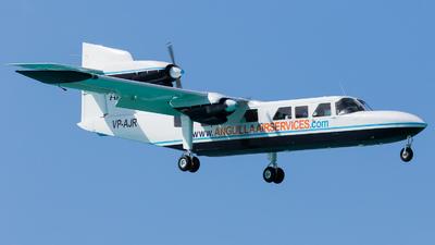 VP-AJR - Britten-Norman BN-2B-20 Islander - Anguilla Air Services