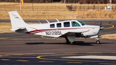 A picture of N2285L - Beech A36 Bonanza - [E930] - © Thomas P. McManus
