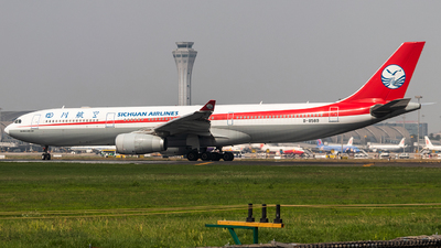 A picture of B8589 - Airbus A330343 - Sichuan Airlines - © Jerry Zheng