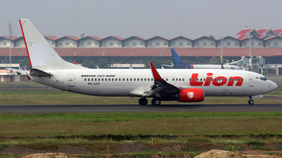 PK-LPQ - Boeing 737-8GP - Lion Air
