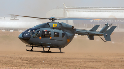 09 - Eurocopter EC 145 - Kazakhstan - Air Force