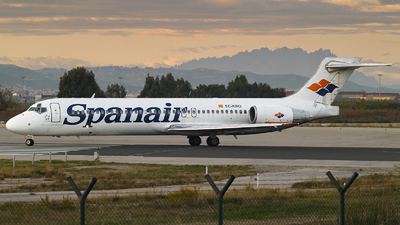EC-KRO - Boeing 717-23S - Spanair